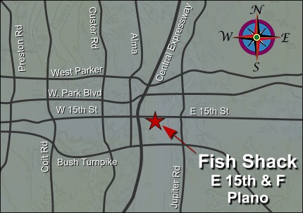Fish Shack Map